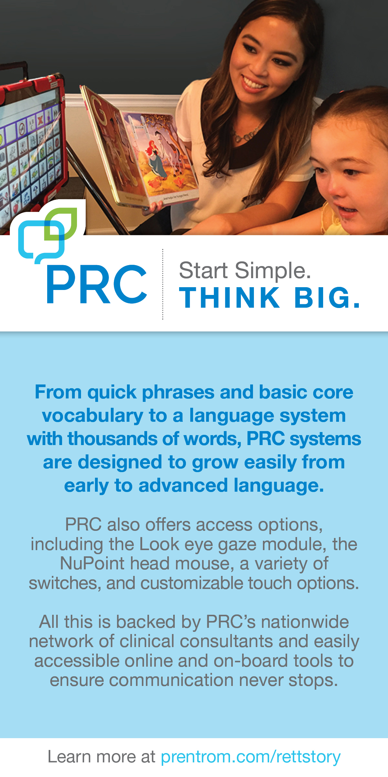 PRC Start Simple. THINK BIG.