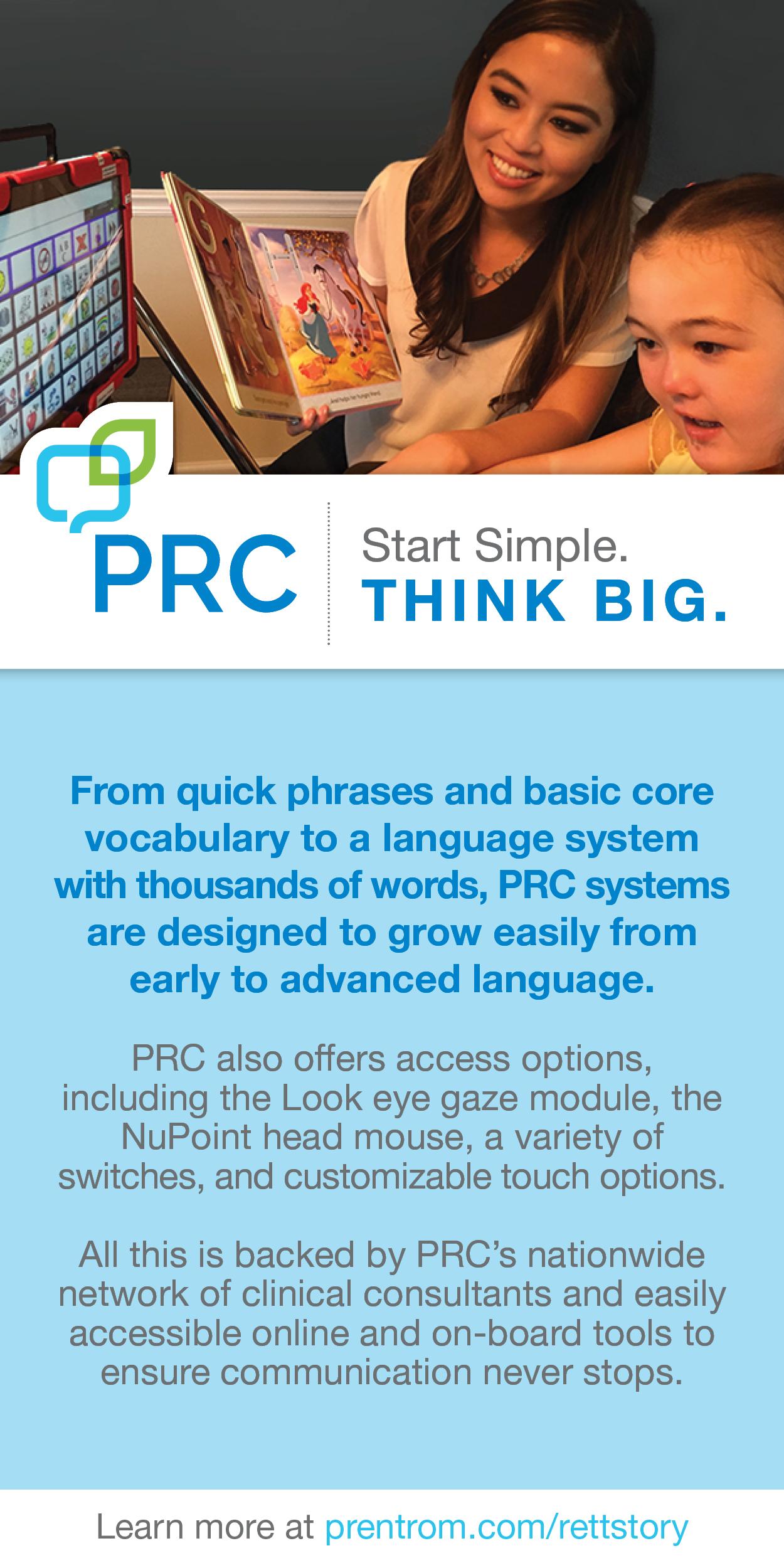 PRC Start Simple. THINK BIG.