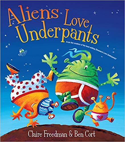 Rett U Book Club: Aliens Love Underpants